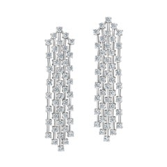 Emilio Jewelry 6.20 Carat Diamond Earrings