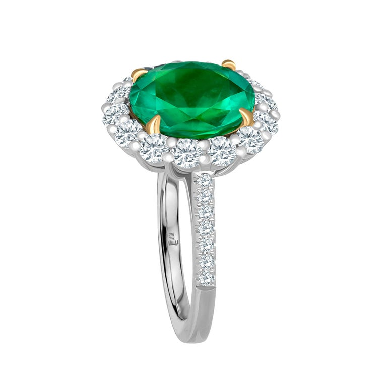 This amazing ring is unique and well thought out before Emilio designed it! Most women today want a ring that is striking, yet humble enough to wear to perform everyday errands. This ring is just that. Hand made in the Emilio Jewelry Atelier, our