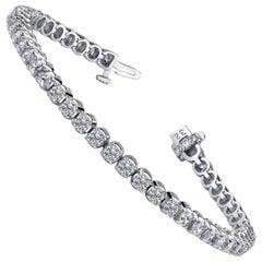 Emilio Jewelry 7.00 Carat Diamond Bracelet