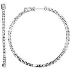 Emilio Jewelry Diamond Hoops