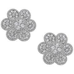 Emilio Jewelry Flower Petal Earring