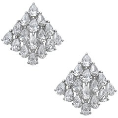 Emilio Jewelry Geometric Unique 4.44 Carat Earring