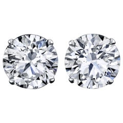 Emilio Jewelry GIA Certified 10.00 Carat Stud Earrings