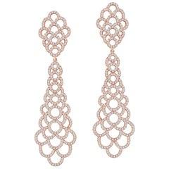 Emilio Jewelry Rose Gold Dangling Earring