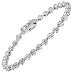 Emilio Jewelry Signature 9.18 Carat Diamond Bracelet