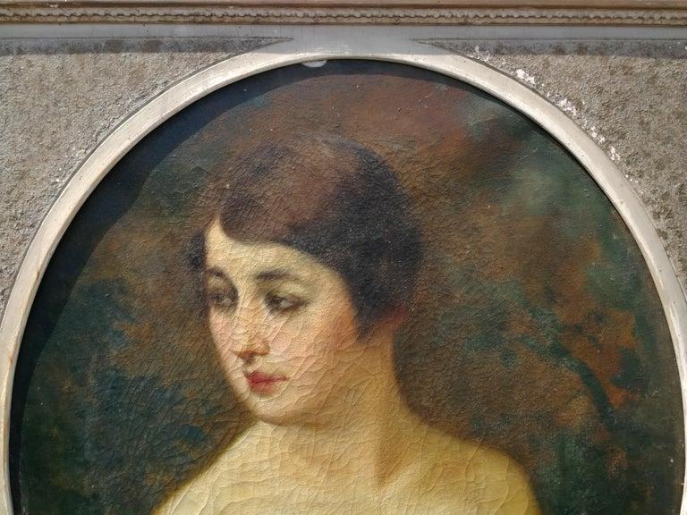 Emilio Magistretti - 19Th Century Italian Portrait -1601