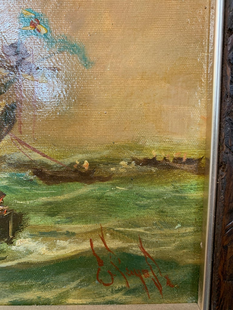 By Sea - Impressionist Painting by Emilio Payes