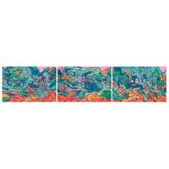 Emilio Perez Triptych of Three Lithographs, 2017