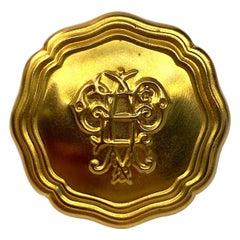 Emilio Pucci 1980s Medallion Ring