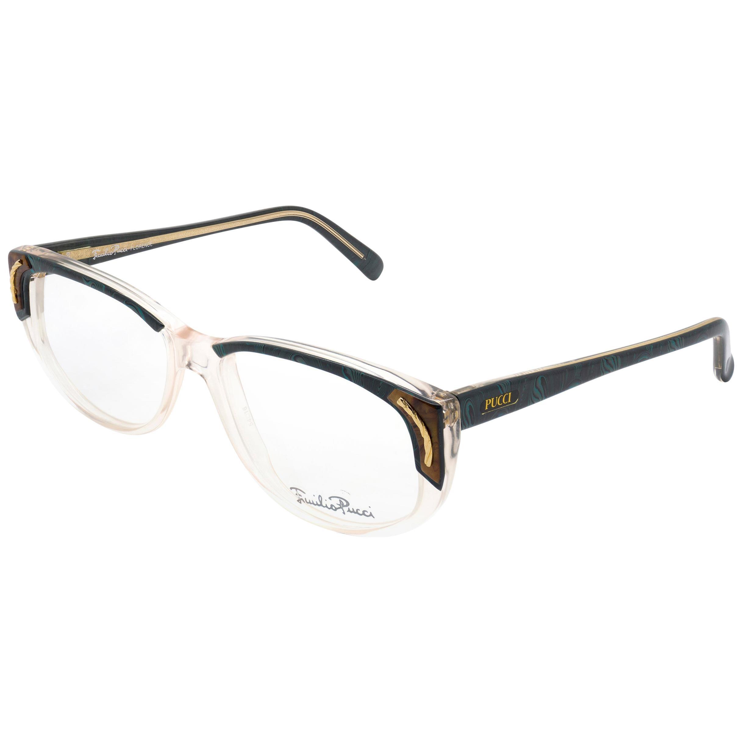 Emilio Pucci 80s eyeglasses for women