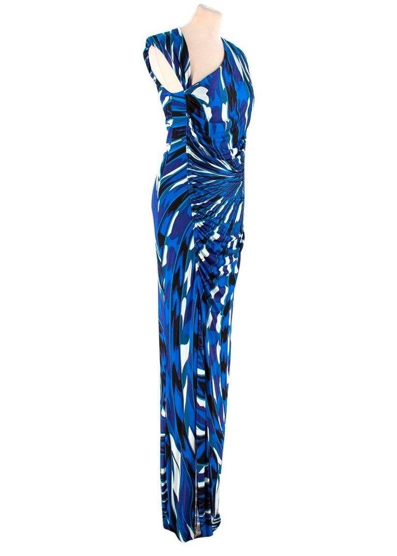 098be2b1a1 Emilio Pucci abstract-print maxi dress US 8 at 1stdibs