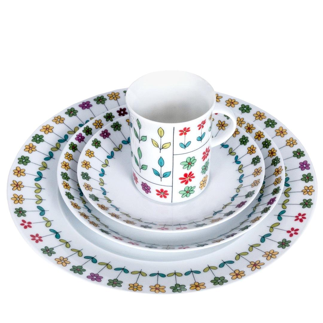 Emilio Pucci Coffee & Dessert Set by Rosenthal