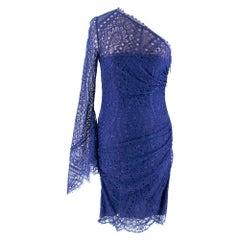 Emilio Pucci Lace One Sleeve Mini Dress I 40