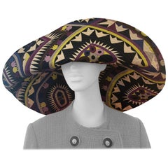 Emilio Pucci Large Cotton Sun Hat