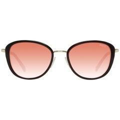 Emilio Pucci Mint Women Black Sunglasses EP0047-O 5205T 52-19-143 mm