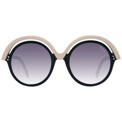 Emilio Pucci Mint Women Black Sunglasses EP0065 5305B 53-21-150 mm