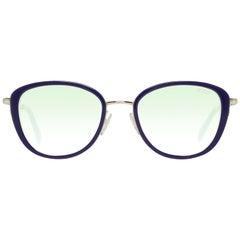 Emilio Pucci Mint Women Blue Sunglasses EP0047-O 5292P 52-19-143 mm