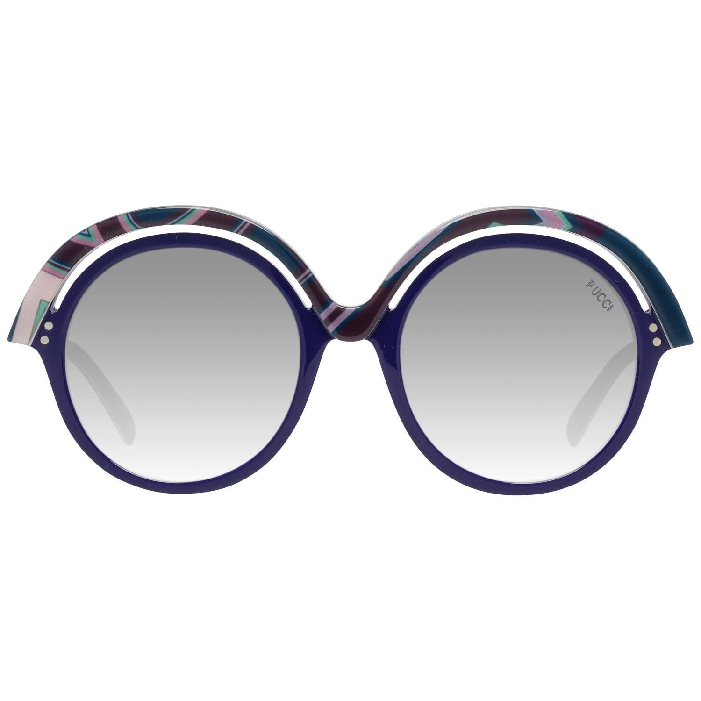 Emilio Pucci Mint Women Blue Sunglasses EP0065 5392B 53-21-150 mm