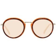 Emilio Pucci Mint Women Brown Sunglasses EP0046-O 4954E 49-20-132 mm