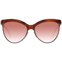 Emilio Pucci Mint Women Brown Sunglasses EP0057 5753Z 57-16-141 mm