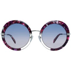 Emilio Pucci Mint Women Burgundy Sunglasses EP0114 5454W 54-24-148 mm