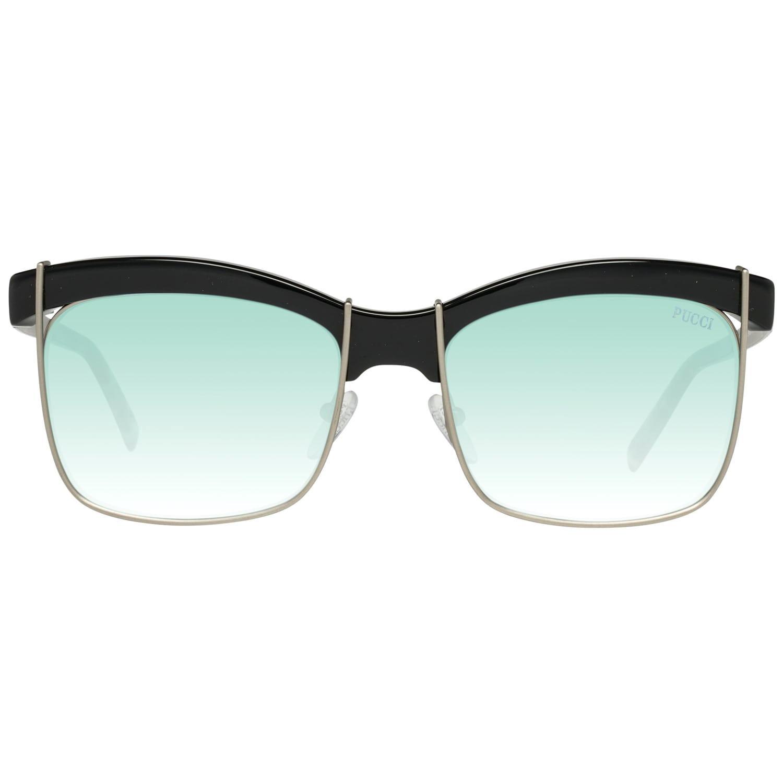Emilio Pucci Mint Women Gold Sunglasses EP0058 5601W 56-18-145 mm