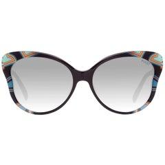 Emilio Pucci Mint Women Multicolor Sunglasses EP0062 5705B 57-16-144 mm