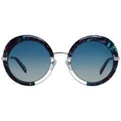 Emilio Pucci Mint Women Multicolor Sunglasses EP0114 5455P 54-24-148 mm