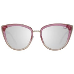 Emilio Pucci Mint Women Pink Sunglasses EP0092 5574G 55-19-145 mm