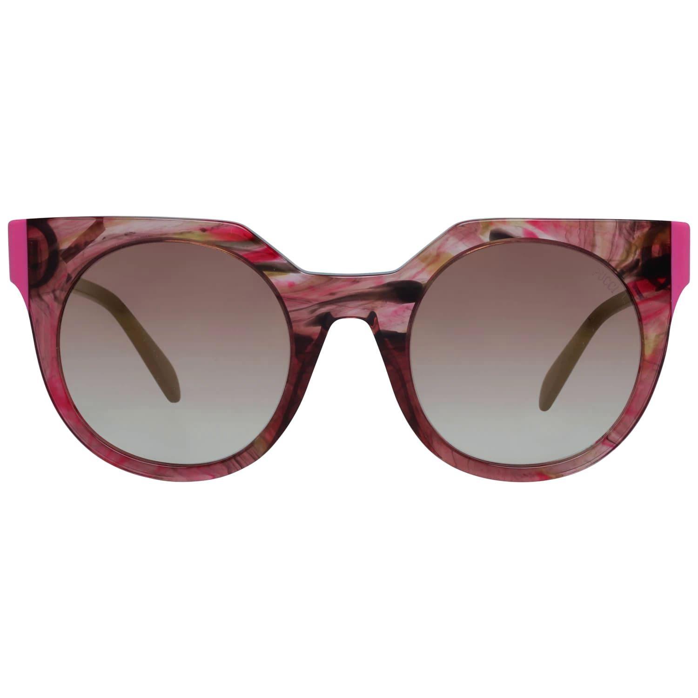 Emilio Pucci Mint Women Red Sunglasses EP0120 5068G 50-23-140 mm