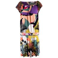 Emilio Pucci Multicolour Silk Shift Dress - Size US 8