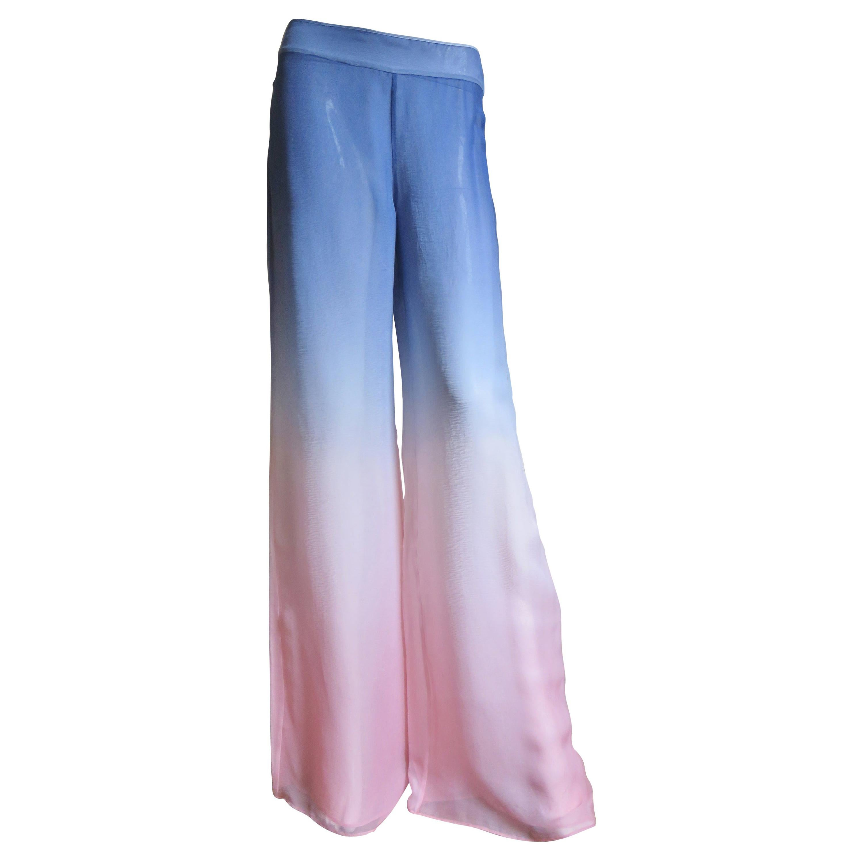 Emilio Pucci New Ombre Silk Pants