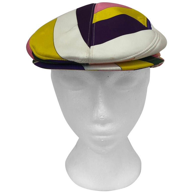 "Emilio Pucci ""Newsboy"" Cap For Sale"