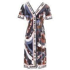 Emilio Pucci Print Dress (Circa 1960's)