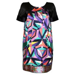Emilio Pucci Printed Coton Satin Dress
