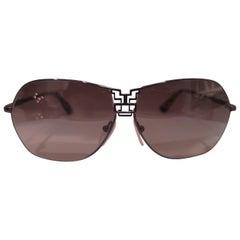 Emilio Pucci purple sunglasses