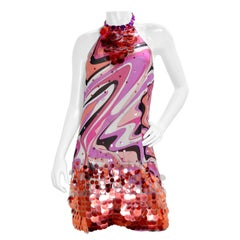 Emilio Pucci Sequin Mini Dress
