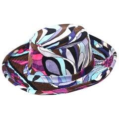 Emilio Pucci Velvet Hat Vintage