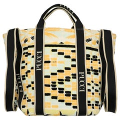 Emilio Pucci Woman Shoulder bag  Black Fabric