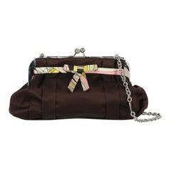 Emilio Pucci Woman Shoulder bag Burgundy Fabric