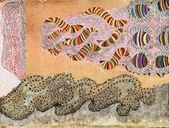 Huge Peruvian Abstract, Exhibited: 1964 Venice Biennale, Ex: Staempfli Gallery