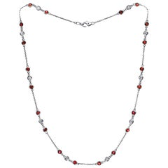 Emilio Ruby Diamond by The Yard Necklace