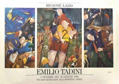 Emilio Tadini Vintage Poster Exhibition - 1992