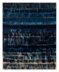 Blue on Blue (Abstract painting)