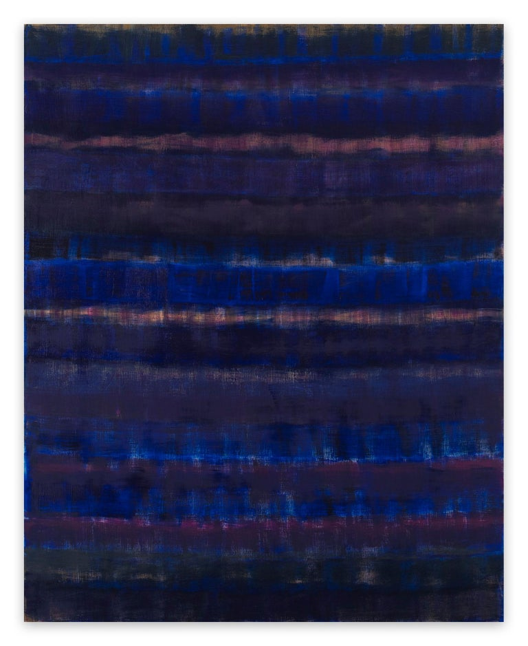 Emily Berger Abstract Painting - Elegy (Abstract painting)