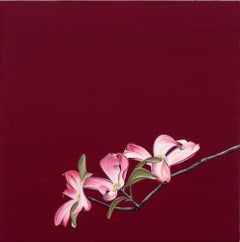 """""""Dogwood Blossom"""" Contemporary Oil Painting"""