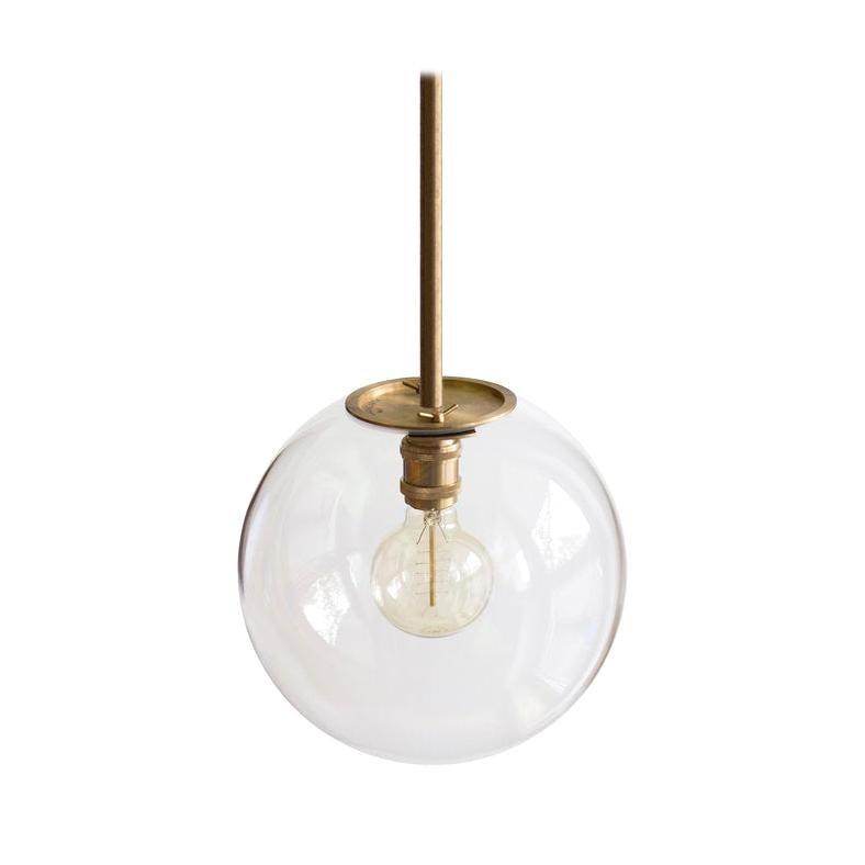 Emiter Brass Hanging Lamp, Jan Garncarek