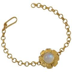 Emma Chapman Moonstone Gold Plate Bracelet