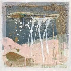 Emma de Polnay, A Sense of Sea iv, Original Abstract Painting, Seascape Art