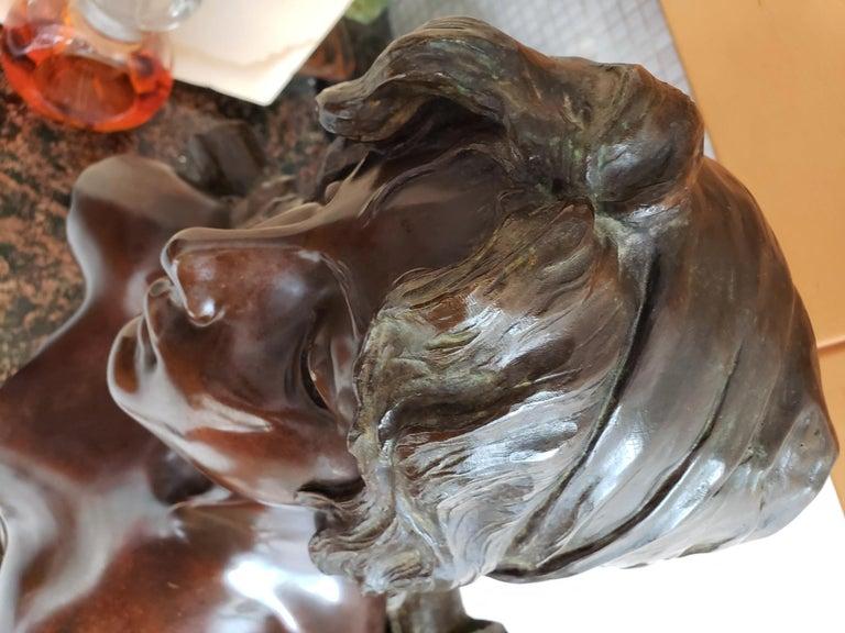Capture - Slave Girl Bronze For Sale 6